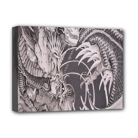 Chinese Dragon Tattoo Deluxe Canvas 16  X 12