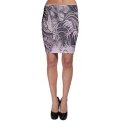Chinese Dragon Tattoo Bodycon Skirt