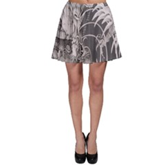 Chinese Dragon Tattoo Skater Skirt