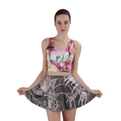 Chinese Dragon Tattoo Mini Skirt