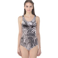 Chinese Dragon Tattoo One Piece Swimsuit
