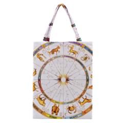 Zodiac  Institute Of Vedic Astrology Classic Tote Bag
