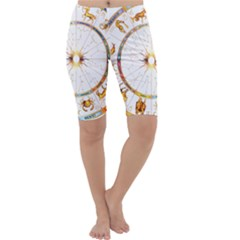 Zodiac  Institute Of Vedic Astrology Cropped Leggings