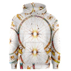 Zodiac  Institute Of Vedic Astrology Men s Pullover Hoodie