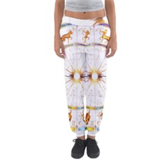 Zodiac  Institute Of Vedic Astrology Women s Jogger Sweatpants