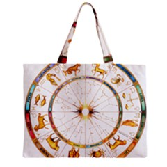 Zodiac  Institute Of Vedic Astrology Zipper Mini Tote Bag