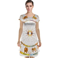 Zodiac  Institute Of Vedic Astrology Cap Sleeve Nightdress