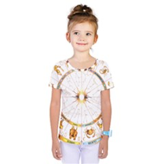 Zodiac  Institute Of Vedic Astrology Kids  One Piece Tee