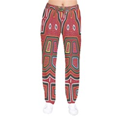Frog Pattern Drawstring Pants