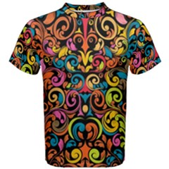 Art Traditional Pattern Men s Cotton Tee