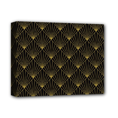 Abstract Stripes Pattern Deluxe Canvas 14  X 11