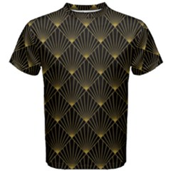 Abstract Stripes Pattern Men s Cotton Tee
