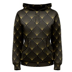 Abstract Stripes Pattern Women s Pullover Hoodie