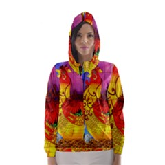 Chinese Zodiac Signs Hooded Wind Breaker (women)