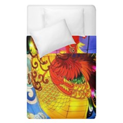 Chinese Zodiac Signs Duvet Cover Double Side (single Size)