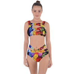 Chinese Zodiac Signs Bandaged Up Bikini Set