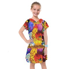 Chinese Zodiac Signs Kids  Drop Waist Dress