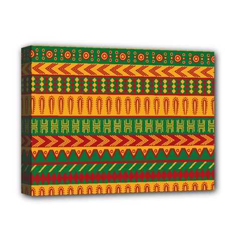 Mexican Pattern Deluxe Canvas 16  X 12