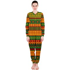 Mexican Pattern Onepiece Jumpsuit (ladies)