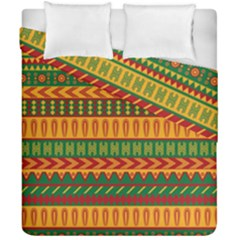 Mexican Pattern Duvet Cover Double Side (california King Size)