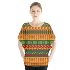 Mexican Pattern Blouse