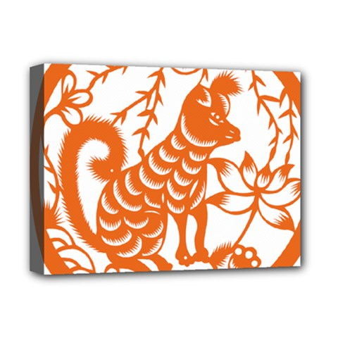 Chinese Zodiac Dog Deluxe Canvas 16  X 12
