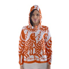 Chinese Zodiac Dog Hooded Wind Breaker (women)