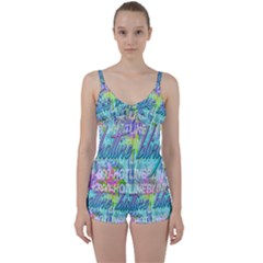 Drake 1 800 Hotline Bling Tie Front Two Piece Tankini