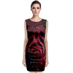Bassnectar Galaxy Nebula Sleeveless Velvet Midi Dress