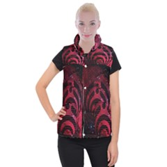 Bassnectar Galaxy Nebula Women s Button Up Puffer Vest