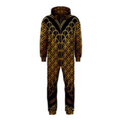 Bring Me The Horizon Cover Album Gold Hooded Jumpsuit (kids)