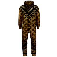 Bring Me The Horizon Cover Album Gold Hooded Jumpsuit (men)