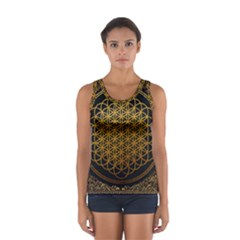 Bring Me The Horizon Cover Album Gold Sport Tank Top