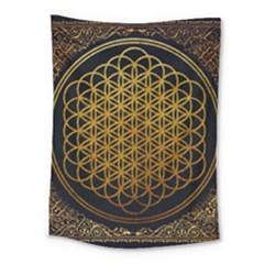 Bring Me The Horizon Cover Album Gold Medium Tapestry