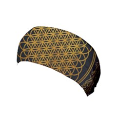 Bring Me The Horizon Cover Album Gold Yoga Headband