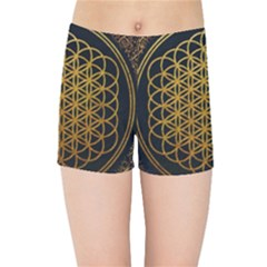 Bring Me The Horizon Cover Album Gold Kids Sports Shorts