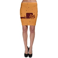 Nyan Cat Vintage Bodycon Skirt