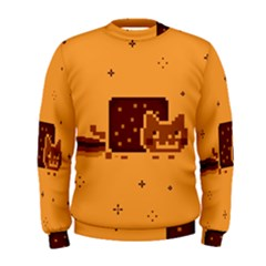 Nyan Cat Vintage Men s Sweatshirt
