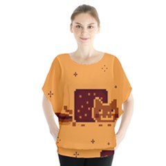 Nyan Cat Vintage Blouse