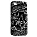 Panic ! At The Disco Lyric Quotes Apple iPhone 4/4S Hardshell Case (PC+Silicone) View2