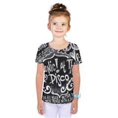 Panic ! At The Disco Lyric Quotes Kids  One Piece Tee