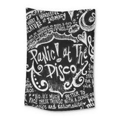 Panic ! At The Disco Lyric Quotes Small Tapestry