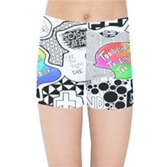 Panic ! At The Disco Kids Sports Shorts
