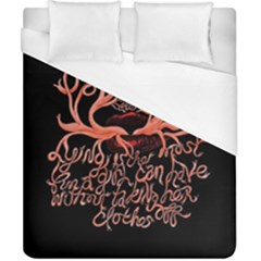 Panic At The Disco   Lying Is The Most Fun A Girl Have Without Taking Her Clothes Duvet Cover (california King Size)