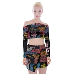 Panic At The Disco Northern Downpour Lyrics Metrolyrics Off Shoulder Top With Skirt Set