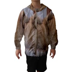 Chow Chow Pup Hooded Wind Breaker (kids)