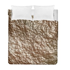 Crumpled Foil 17a Duvet Cover Double Side (full/ Double Size)