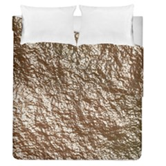 Crumpled Foil 17a Duvet Cover Double Side (queen Size)