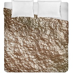 Crumpled Foil 17a Duvet Cover Double Side (king Size)