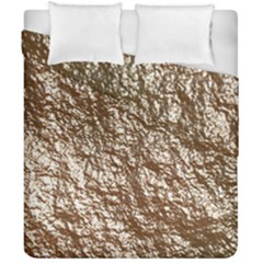 Crumpled Foil 17a Duvet Cover Double Side (california King Size)